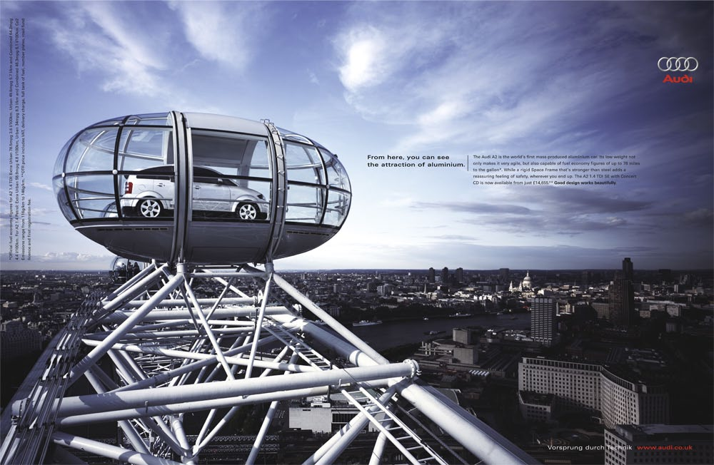 Audi London Eye Commercial Adam Wright - Audi commercial
