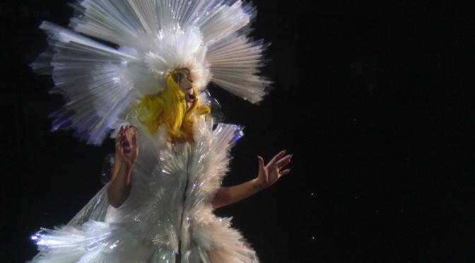 Lady Gaga's Living Dress