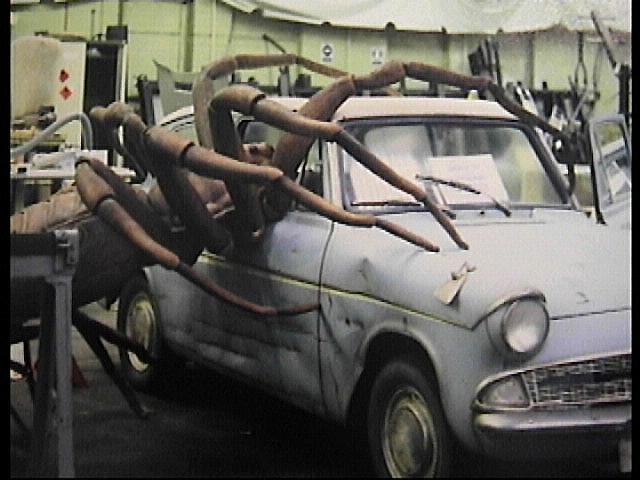 HP spider :car